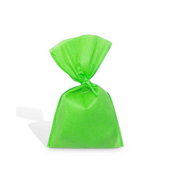 Saquinho para Lembrancinha em TNT (13cm x 25cm) Verde Limão 10 unidades - Best Fest - Rizzoembalagens