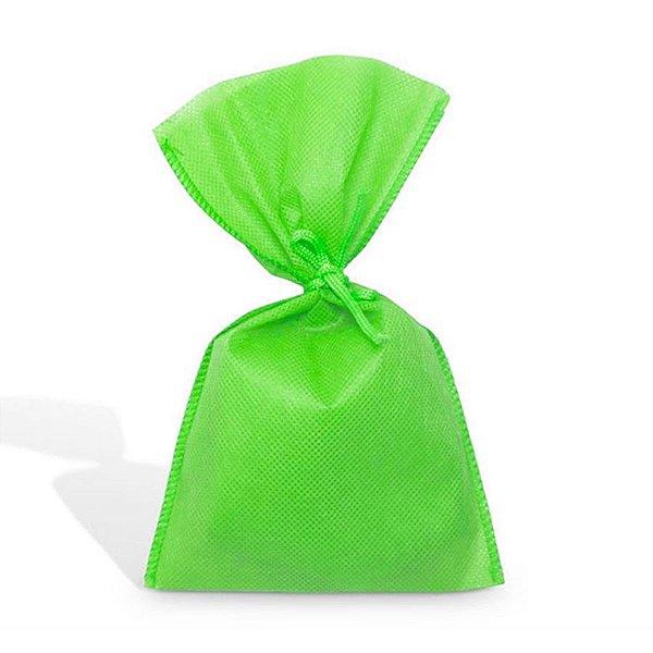 Saco em TNT (20cm x 30cm) Verde Limão 10 unidades - Best Fest - Rizzoembalagens