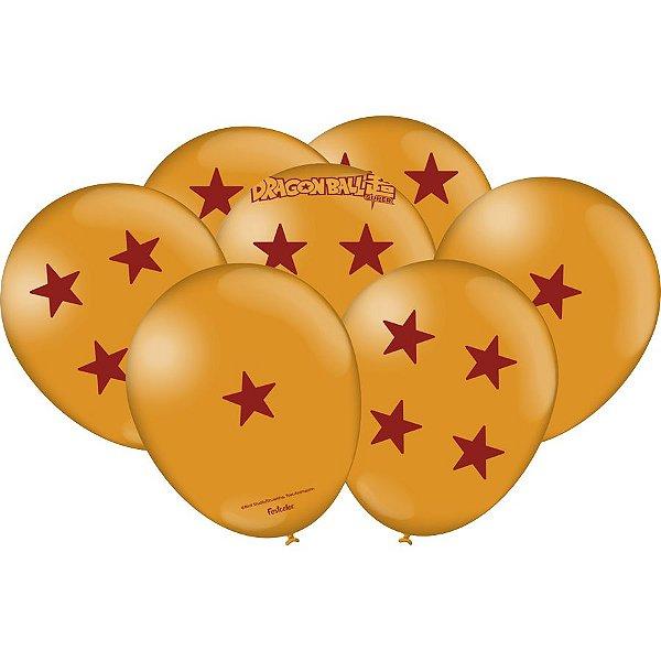 Balão Festa Dragon Ball - 25 unidades - Festcolor - Rizzo Festas