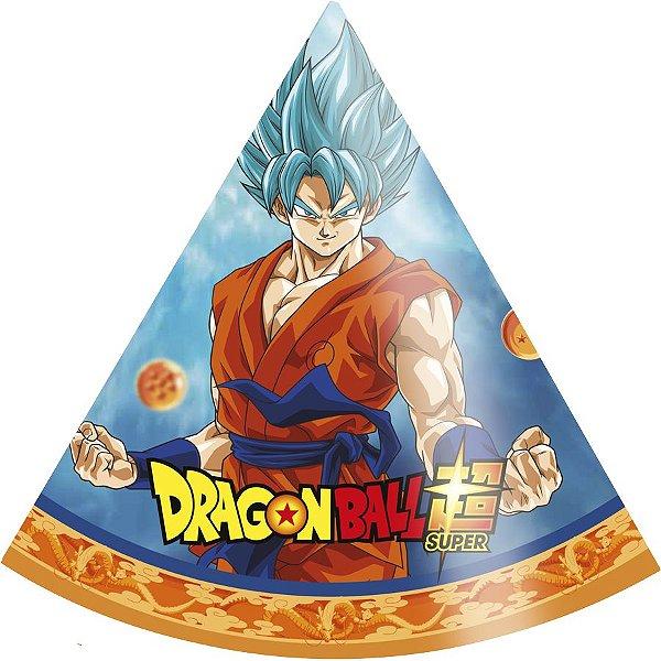 Chapéu Festa Dragon Ball - 8 unidades - Festcolor - Rizzo Festas
