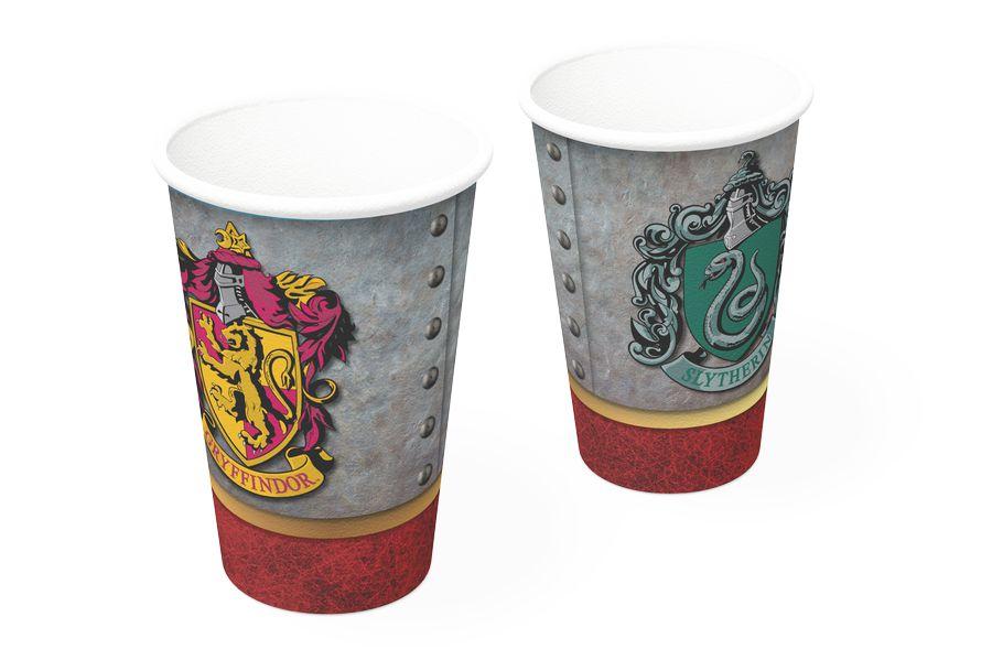 Copo de Papel Festa Harry Potter 200ml - 8 unidades - Festcolor - Rizzo Festas