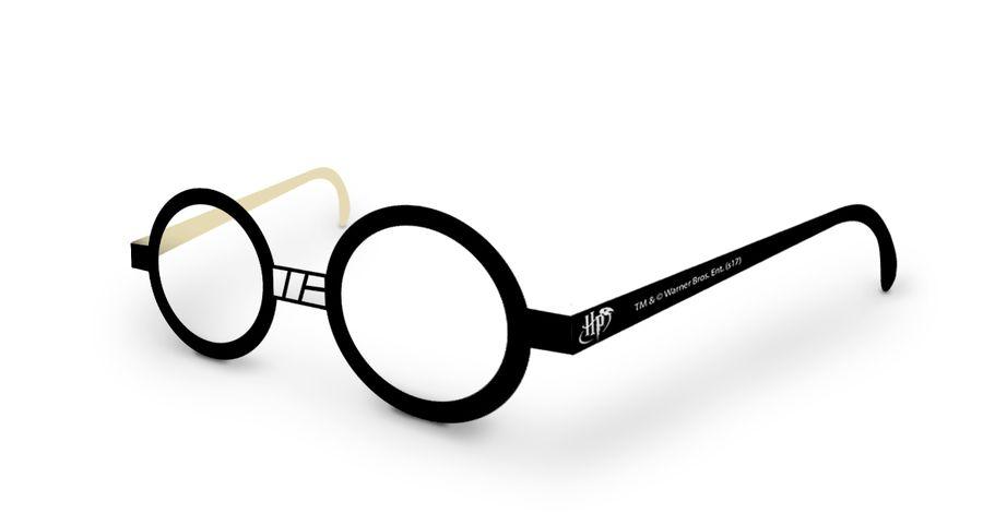 Óculos Divertido Festa Harry Potter - 9 unidades - Festcolor - Rizzo Festas