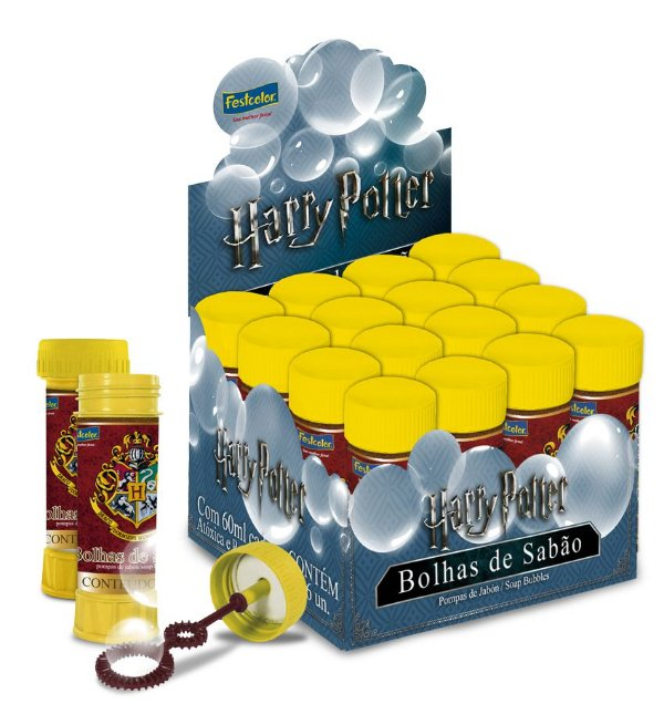 Lembrancinha Bolha de Sabão Festa Harry Potter - Festcolor - Rizzo Festas