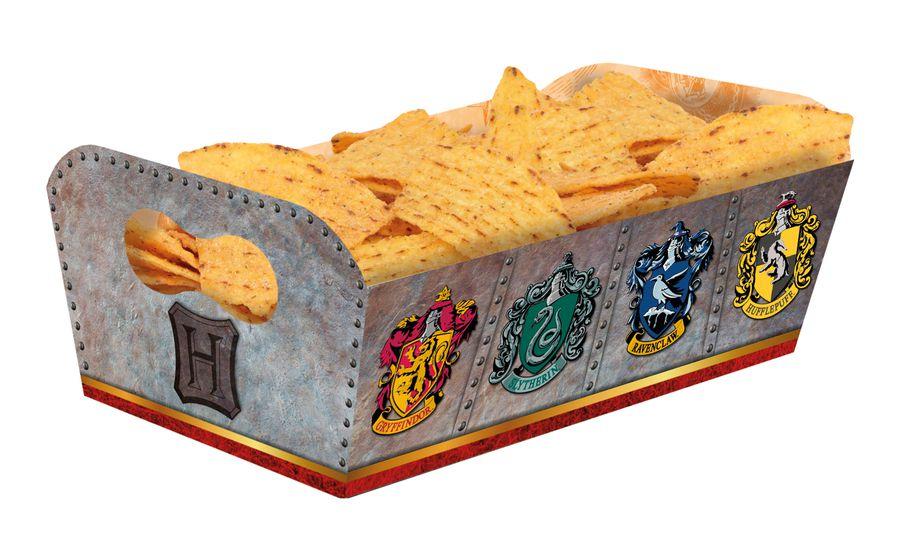 Bandeja Retangular Festa Harry Potter - 8 unidades - Festcolor - Rizzo Festas