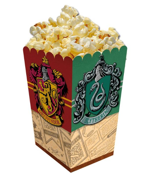 Caixa de Pipoca Festa Harry Potter - 6 unidades - Festcolor - Rizzo Festas