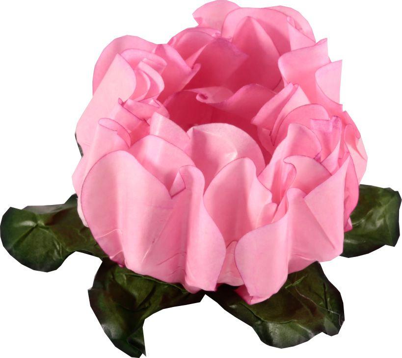 Forminha para Doces Finos - Rosa Maior Chiclete 40 unidades - Decora Doces - Rizzo Festas