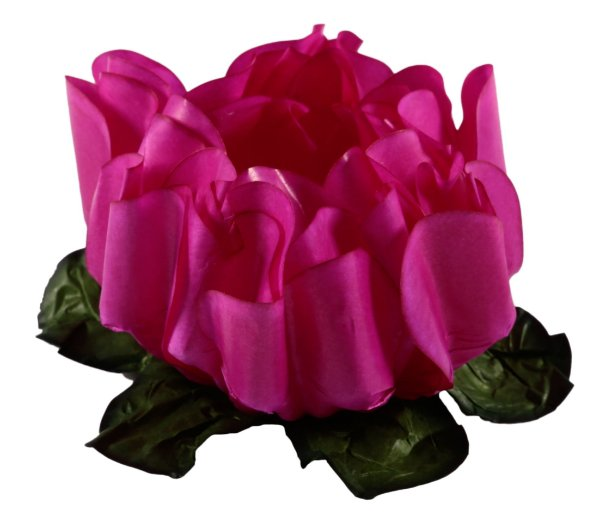 Forminha para Doces Finos - Rosa Maior Pink 40 unidades - Decora Doces - Rizzo Festas