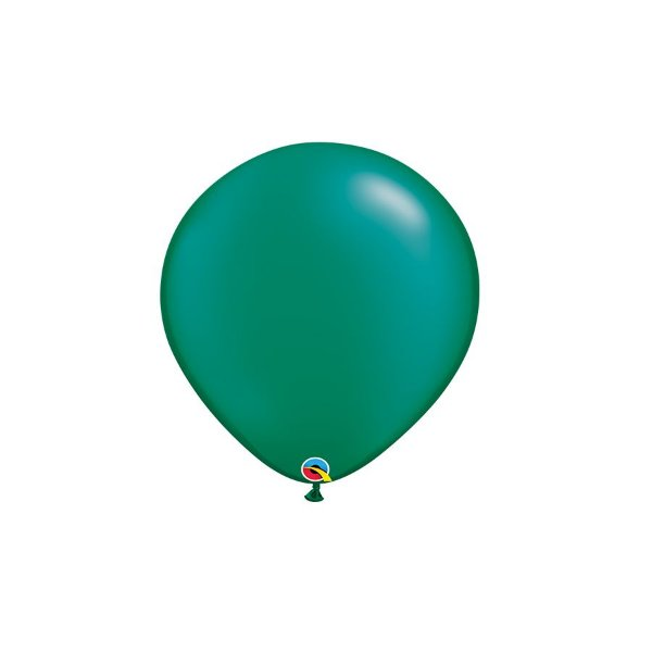 Balão Qualatex Perolado Radiante Opaco Azul Safira 5'' 5 unidades Profissional - Rizzo Festas