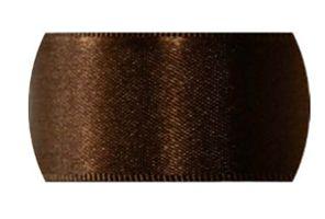 Fita de Cetim Progresso 7mm nº1 - 10m Cor 391 Marrom - 01 unidade - Rizzo Embalagens