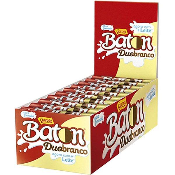 Batom Duo Branco 16g Caixa com 30 unidades - Garoto - Rizzo Embalagens