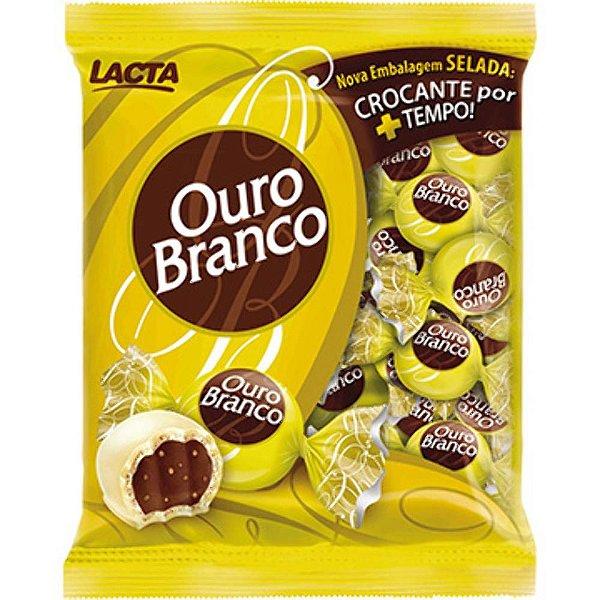 Bombom Ouro Branco 1kg - Lacta - Rizzo Embalagens