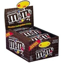 MMs Ao Leite 49g Caixa com 18 unidades - Mars - Rizzo Embalagens