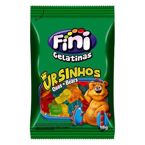 Ursinhos Pocket 12 unidades de 18g - Fini - Rizzo Embalagens