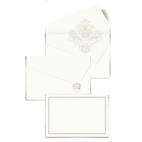 Convite - 24 unidades - Cromus Casamento Classico - Rizzo Festas