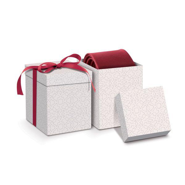 Caixa para Gravata 23010878 - 08 unidades - Cromus Casamento Escarlate - Rizzo Festas
