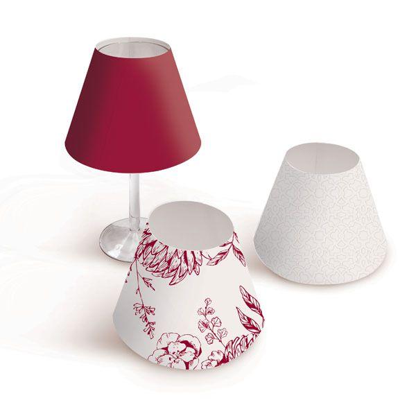 Cupula para Taca 23010852- 12 unidades - Cromus Casamento Escarlate - Rizzo Festas