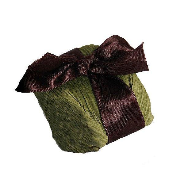 Kit Bem Casado Verde_Marrom - 20 unidades - Cromus Casamento Rustico - Rizzo Festas