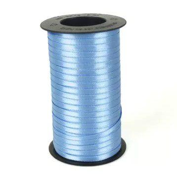 Fita de Cetim Carretel Progresso 4mm nº00 - 100m Cor 246 Azul Celeste - 01 unidade - Rizzo Embalagens