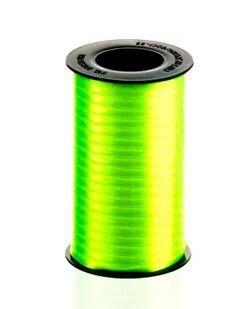 Fita de Cetim Carretel Progresso 4mm nº00 - 100m Cor 280 Verde Cítrico - 01 unidade - Rizzo Embalagens