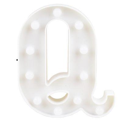 Letra LED Decoração Festa - Q - 01 unidade - Rizzo Festas