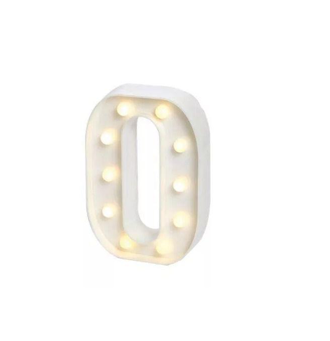 Número LED Decoração Festa - nº 0 - 01 unidade - Rizzo Festas