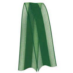 Fita de Voal com Cetim VCE003 15mm Cor 217 Verde Bandeira - 10 metros - Progresso - Rizzo Embalagens