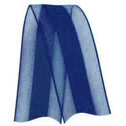 Fita de Voal com Cetim VCE005 22mm Cor 215 Azul Marinho - 10 metros - Progresso - Rizzo Embalagens