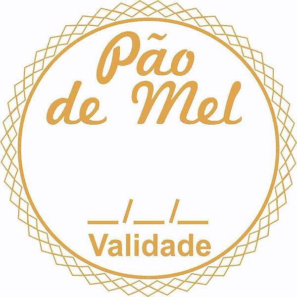Etiqueta Pao De Mel Validade Modelo 1 100 Unidades Massai