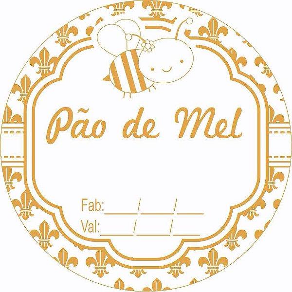 Etiqueta Pao De Mel Fabricacao Validade Abelha Modelo 1 100