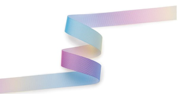 Fita de Gorgurão Decorada Multicolor  15mm 8664003 Cor 310 - 10 metros - Progresso - Rizzo Embalagens