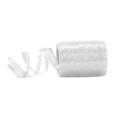 Fitilho Plástico Branco - 50 metros - Rizzo Embalagens