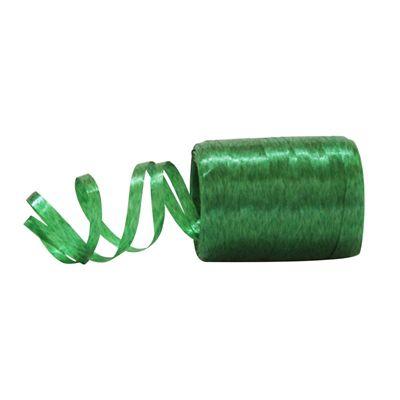 Fitilho Plástico Verde - 50 metros - Rizzo Embalagens