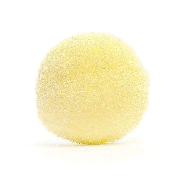 Pom Pom de Coelho para Decoração de Páscoa Amarelo - G 2,5cm x 2,5cm - 20 unidades - Cromus Páscoa - Rizzo Embalagens
