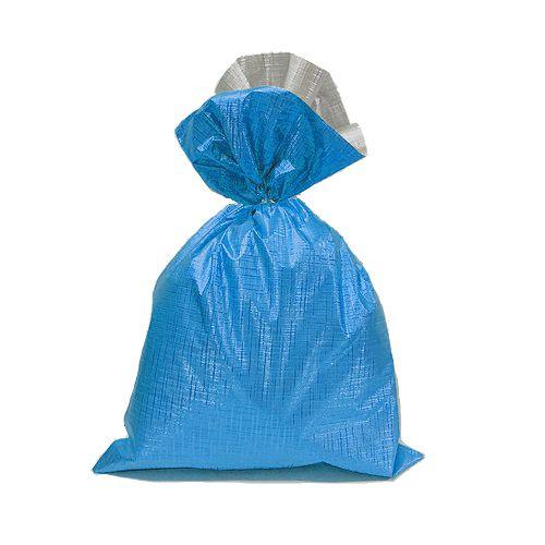 Saco Soft Color Azul 15x22cm - 40 unidades - Cromus - Rizzo Embalagens