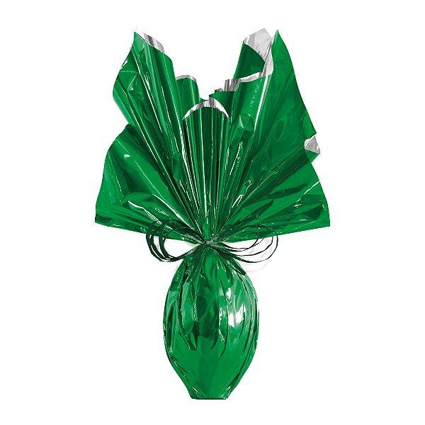 Folha para Ovos de Páscoa Metalizado Verde 69x89cm - 05 unidades - Cromus Páscoa - Rizzo Embalagens