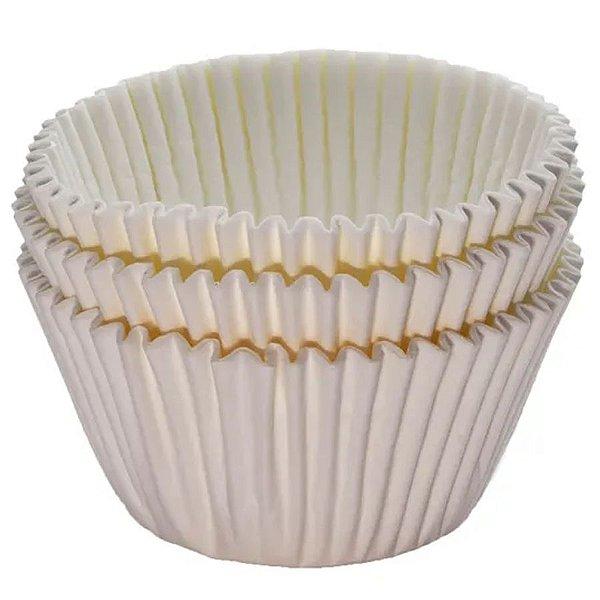 Forminha Forneável Cupcake Nº 0 (4cm x 5cm) Natural - 45 unidades - Mago - Rizzo Embalagens