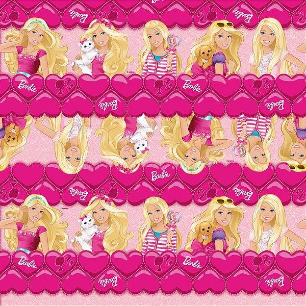Folha para Ovos de Páscoa Fashion Barbie 69x89cm - 05 unidades - Cromus Páscoa - Rizzo Embalagens
