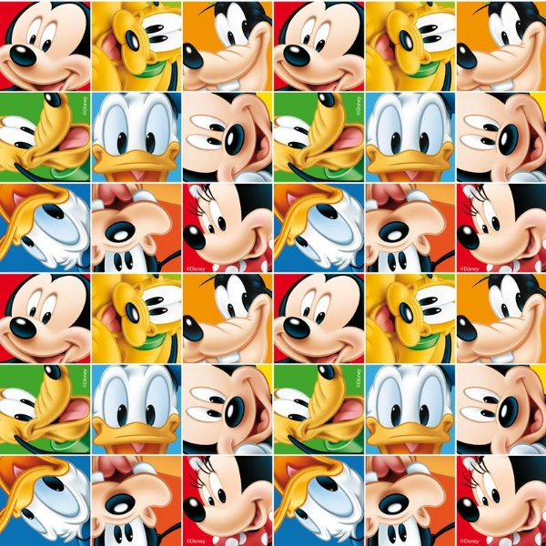 Folha para Ovos de Páscoa Mickey e Turma 69x89cm - 05 unidades - Cromus Páscoa - Rizzo Embalagens