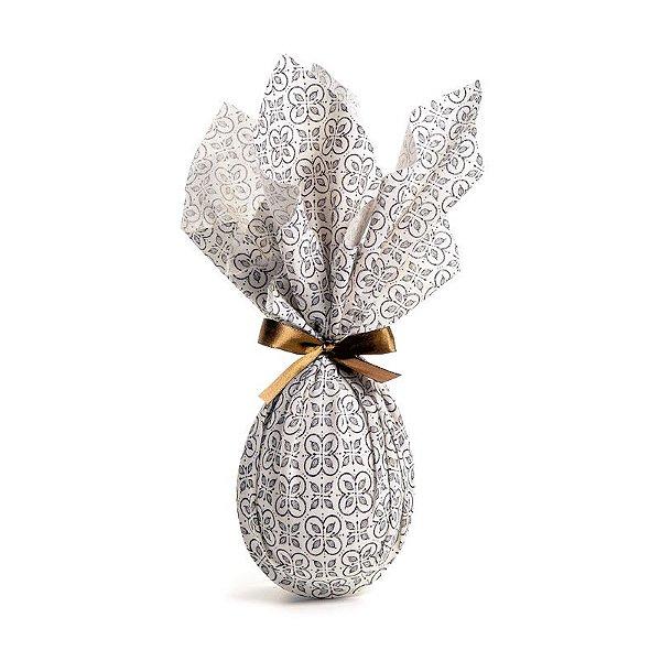 Tecido para Ovo de Páscoa Chocolatier 44x44cm - 02 unidades - Cromus Páscoa - Rizzo Embalagens