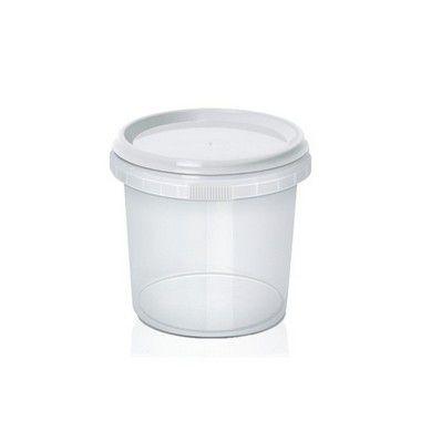 Pote Redondo com Lacre 220ml com 20 unidades WS Plásticos Rizzo Embalagens