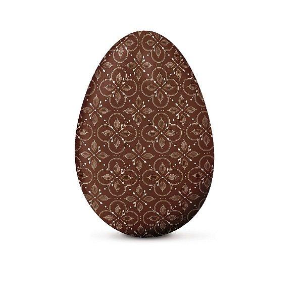Papel Chumbo 10x9,7cm - Chocolatier Marrom - 300 folhas - Cromus - Rizzo Embalagens
