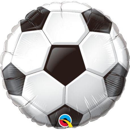 Balão Metalizado Bola Festa Futebol - 18'' - Qualatex - Rizzo festas