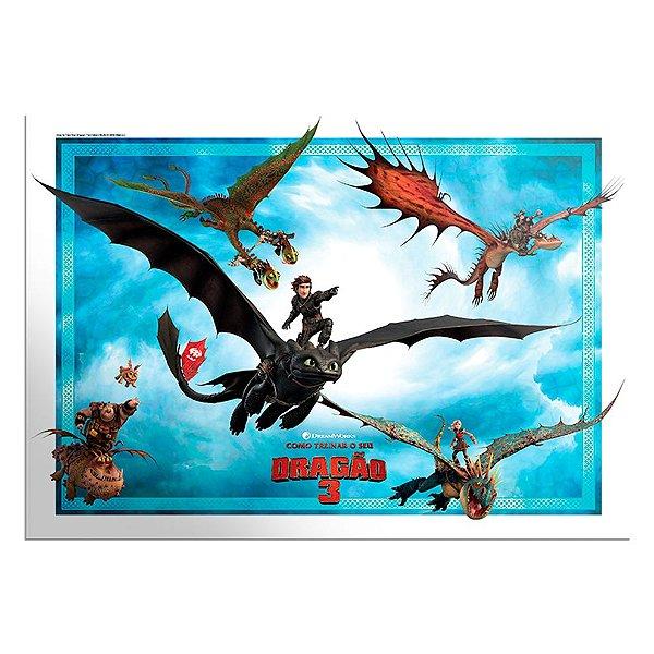 Painel Decorativo Festa Como Treinar o Seu Dragão - Festcolor - Rizzo Festas