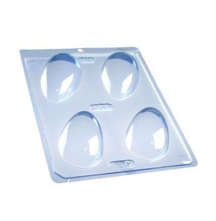 Forma de Acetato Ovo 100g Liso 140 BWB Rizzo Embalagens