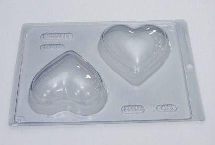 Forma Especial Ovo 200g Coração Cód 45 BWB Rizzo Embalagens