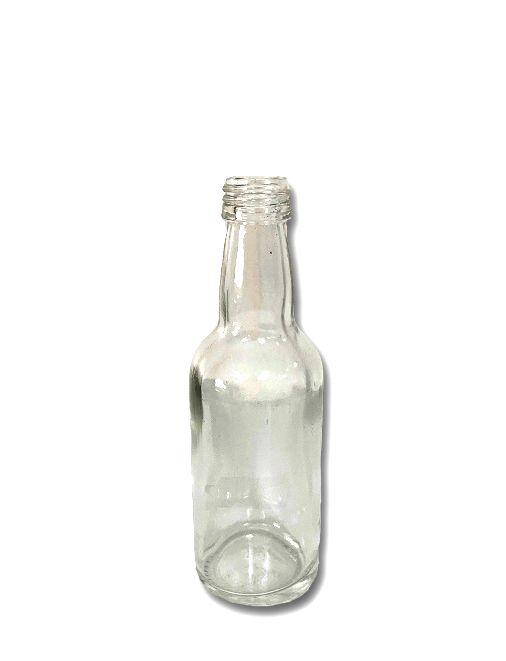 Garrafinha de Vidro 50ml - 11cm x 3,5cm - 01 unidade - Rizzo Embalagens