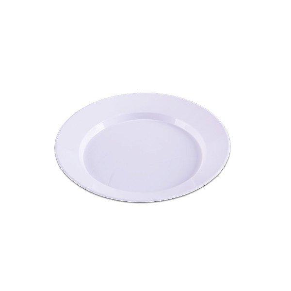 Prato Redondo Branco Médio - 10 unidades - Prafesta - Rizzo Embalagens