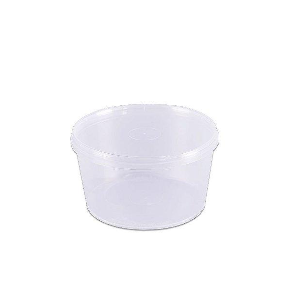 Pote com Lacre 500ml PL500 - 10 unidades - Prafesta - Rizzo Embalagens