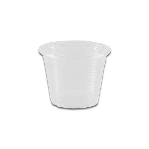 Copo Descartável 50ml Cristal - 100 unidades - Copaza - Rizzo Embalagens
