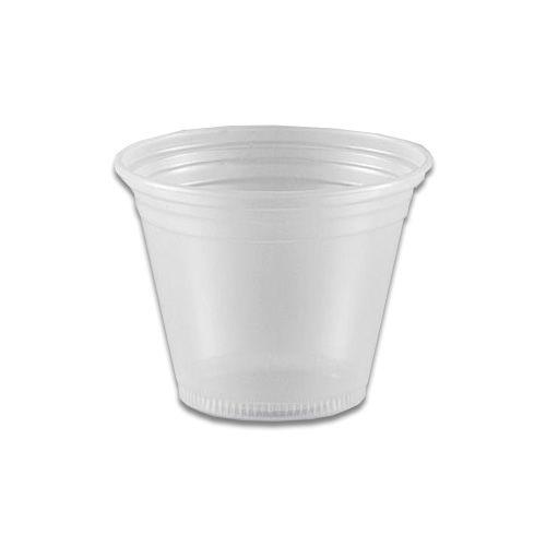Copo Descartável 80ml Translúcido - 100 unidades - Copaza - Rizzo Embalagens